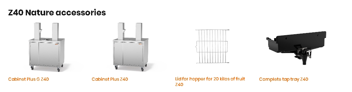 Соковыжималка ZUMMO Z40 Nature Self Service Cabinet Plus